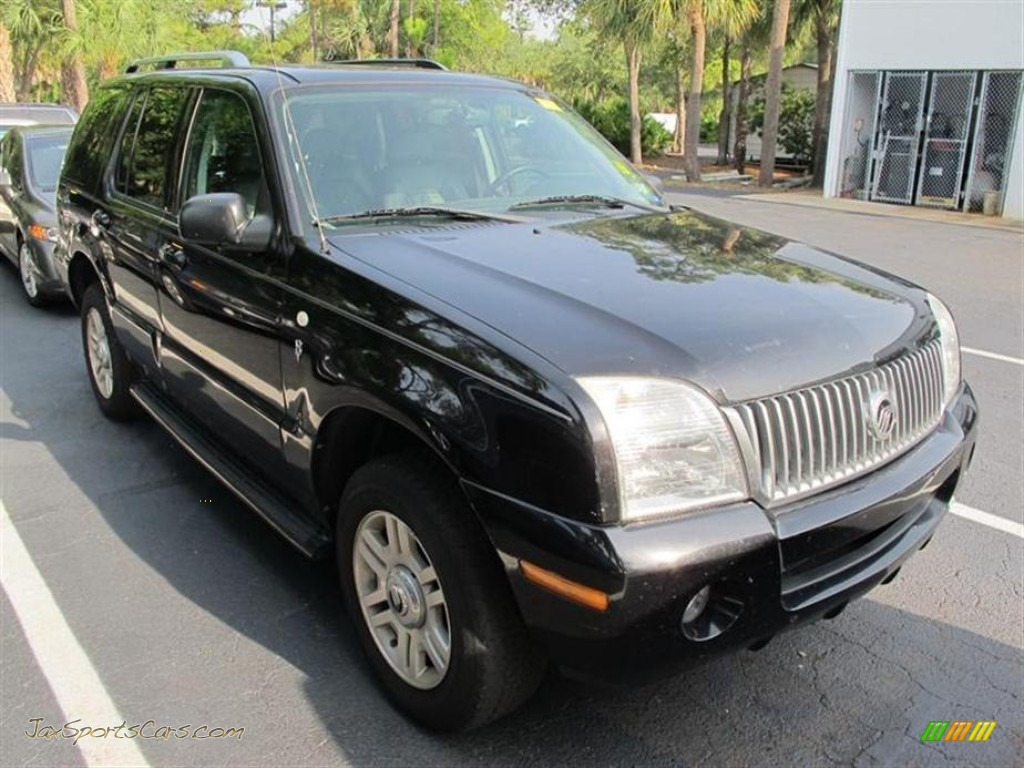 Black clearcoat midnight grey mercury mountaineer v8 premier