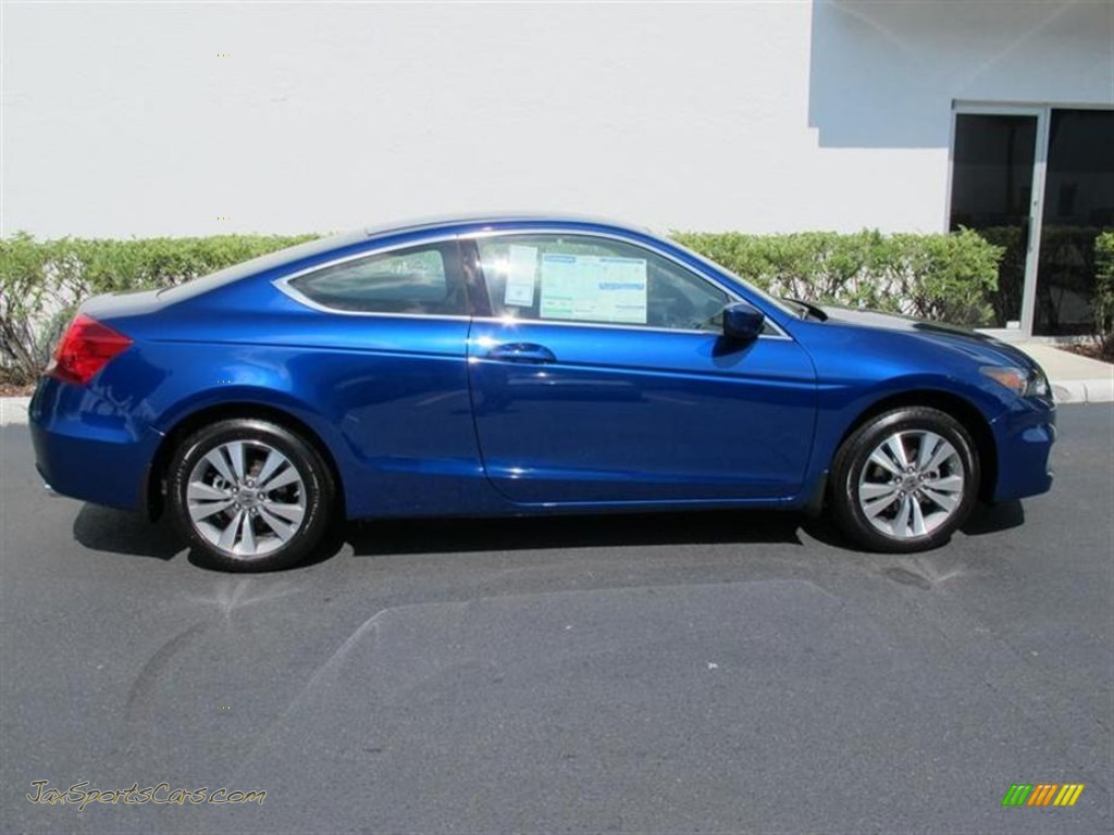 2011 Honda Accord Lx S Coupe In Belize Blue Pearl Photo 2