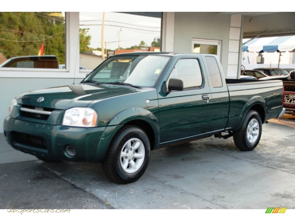 2001 nissan frontier xe king cab in alpine green metallic 326753 jax sports cars cars for. Black Bedroom Furniture Sets. Home Design Ideas