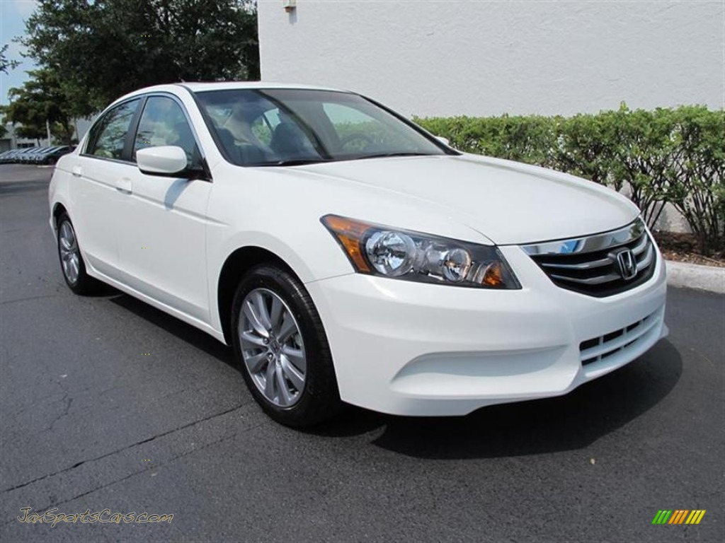 2011 Honda Accord Ex L Sedan In White Diamond Pearl