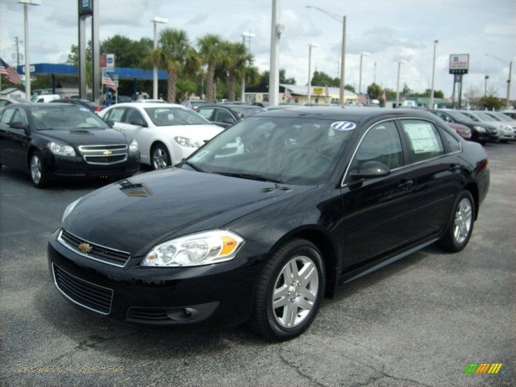 2011 chevrolet impala lt in black 327427 jax sports. Black Bedroom Furniture Sets. Home Design Ideas
