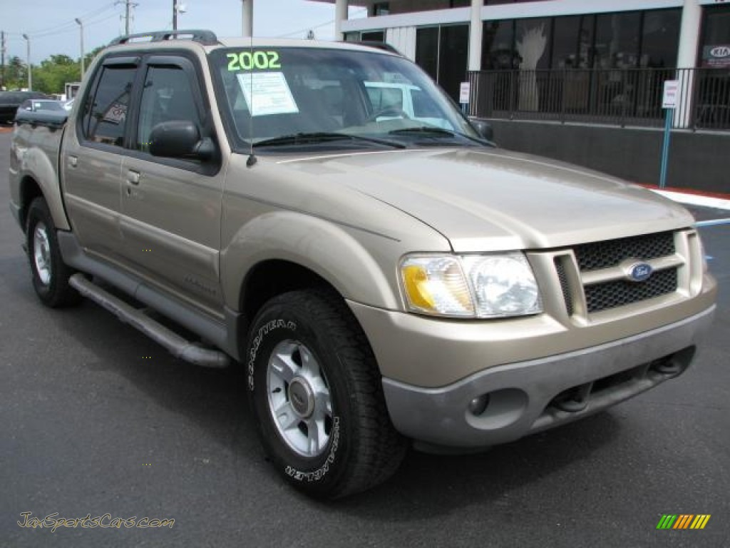 2002 ford explorer sport trac in harvest gold metallic b66643 jax. Cars Review. Best American Auto & Cars Review