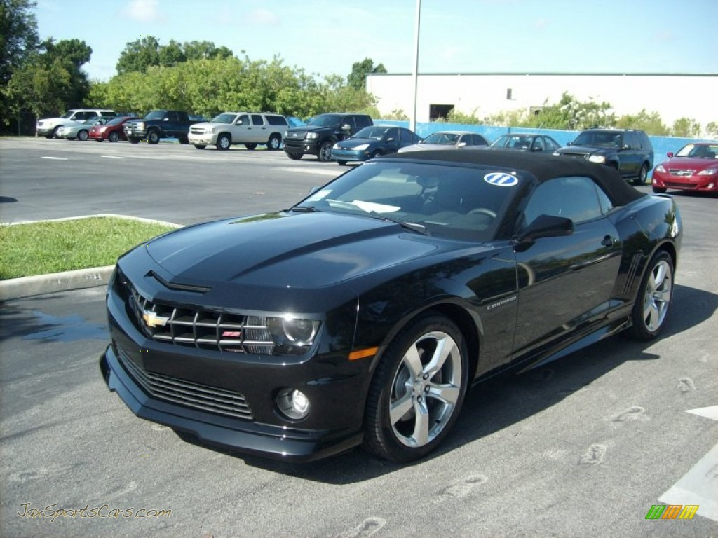 2011 chevrolet camaro ss rs convertible in black 207197 jax sports. Cars Review. Best American Auto & Cars Review