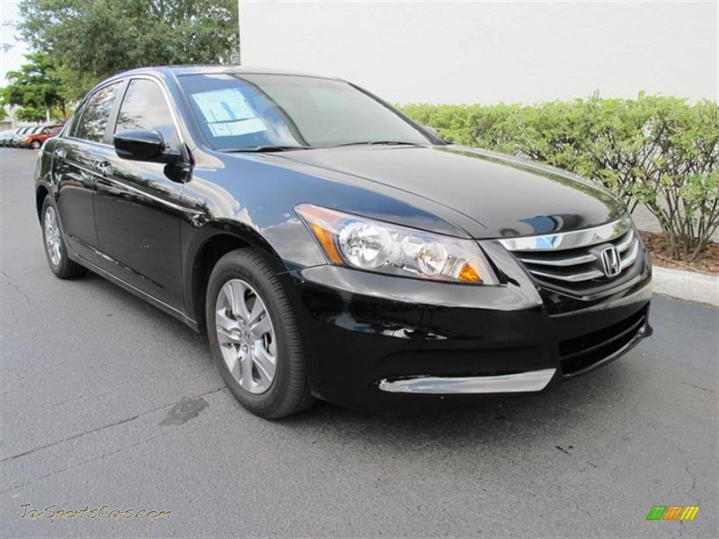 2011 Honda Accord Se Sedan In Crystal Black Pearl 136497