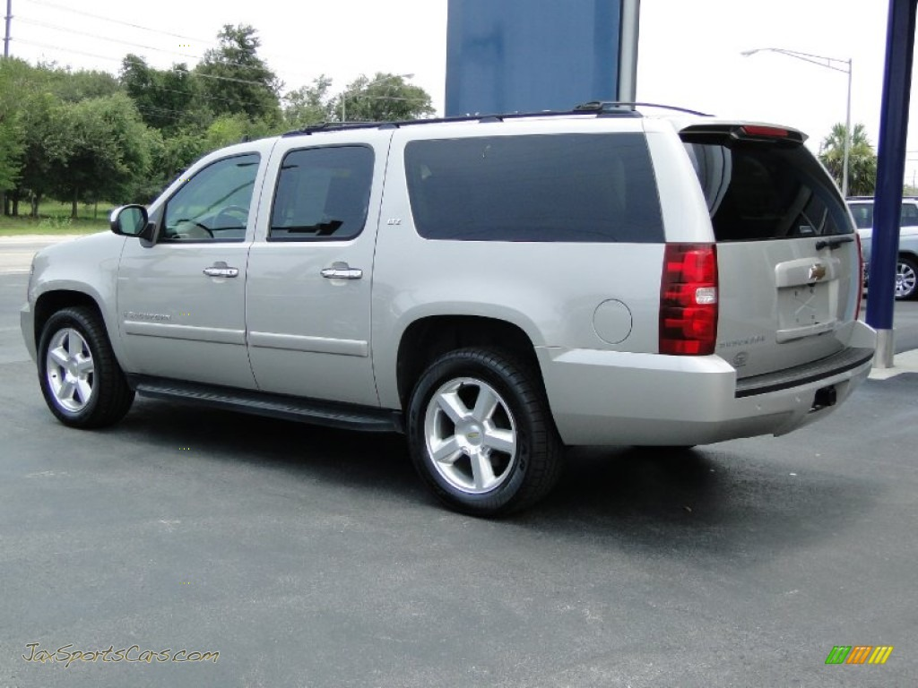 2007 chevrolet suburban 1500 ltz in silver birch metallic. Black Bedroom Furniture Sets. Home Design Ideas