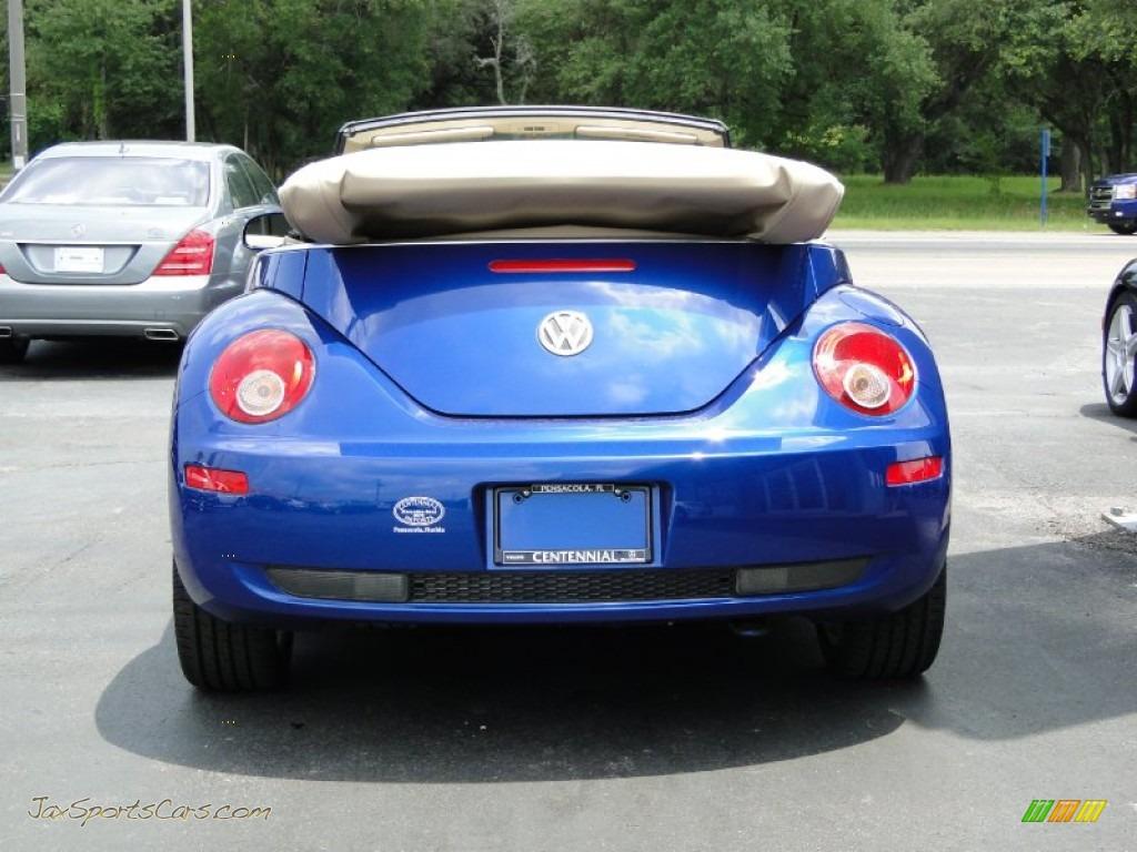 2007 Volkswagen New Beetle 2.5 Convertible in Shadow Blue ...