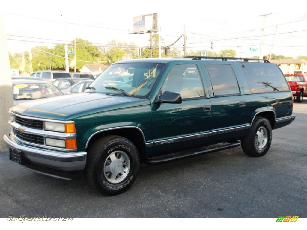 1997 chevrolet suburban c1500 lt in emerald green metallic. Black Bedroom Furniture Sets. Home Design Ideas