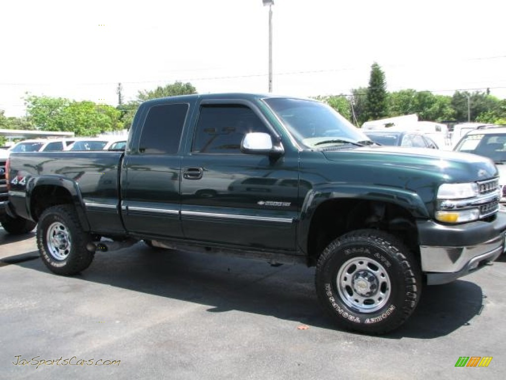 2001 chevrolet silverado 2500hd ls extended cab 4x4 in forest green. Cars Review. Best American Auto & Cars Review