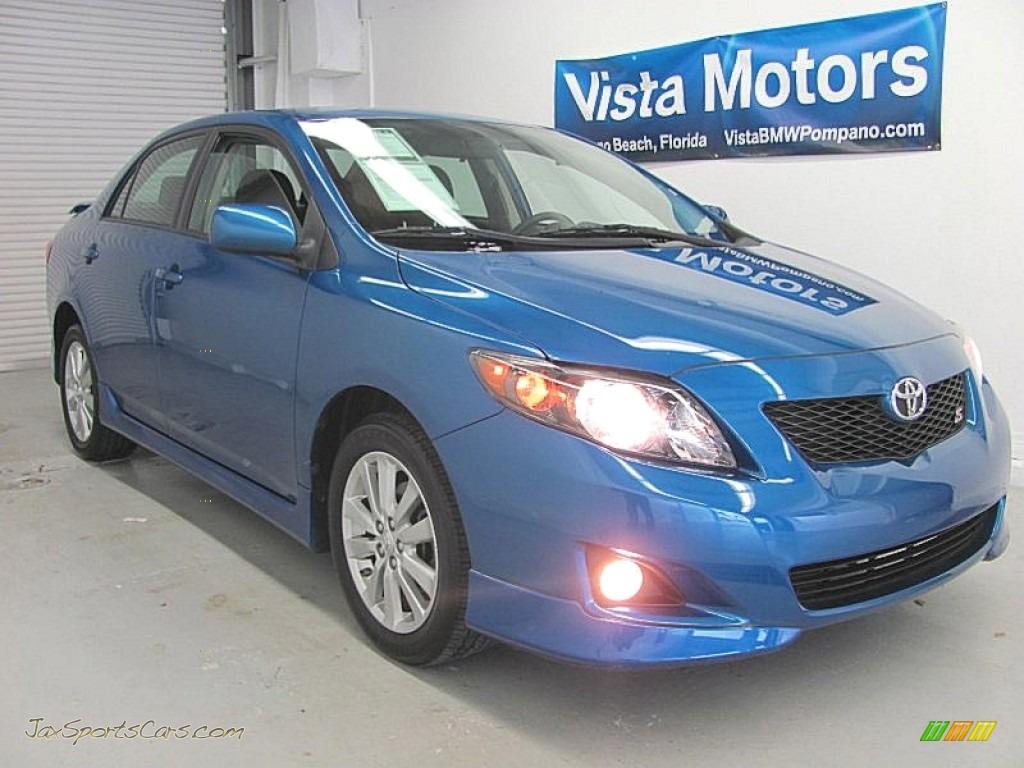 2009 Toyota Corolla S In Blue Streak Metallic 113823 Jax Sports Cars Cars For Sale In Florida