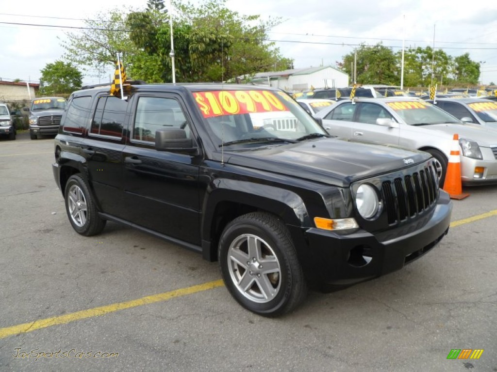 2007 jeep patriot sport in black clearcoat 291122 jax sports cars cars for sale in florida. Black Bedroom Furniture Sets. Home Design Ideas