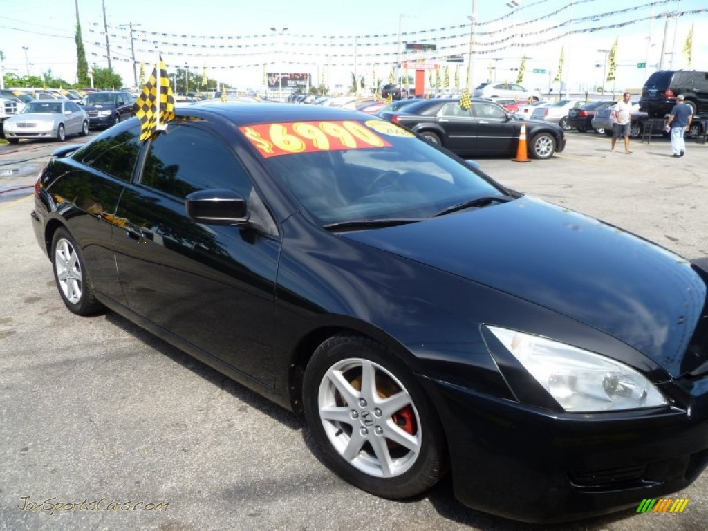 2003 Honda Accord Ex V6 Coupe In Nighthawk Black Pearl