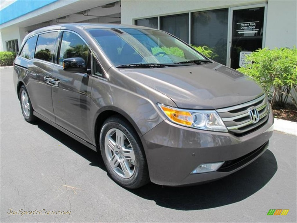 2011 Honda Odyssey Touring Elite In Smoky Topaz Metallic