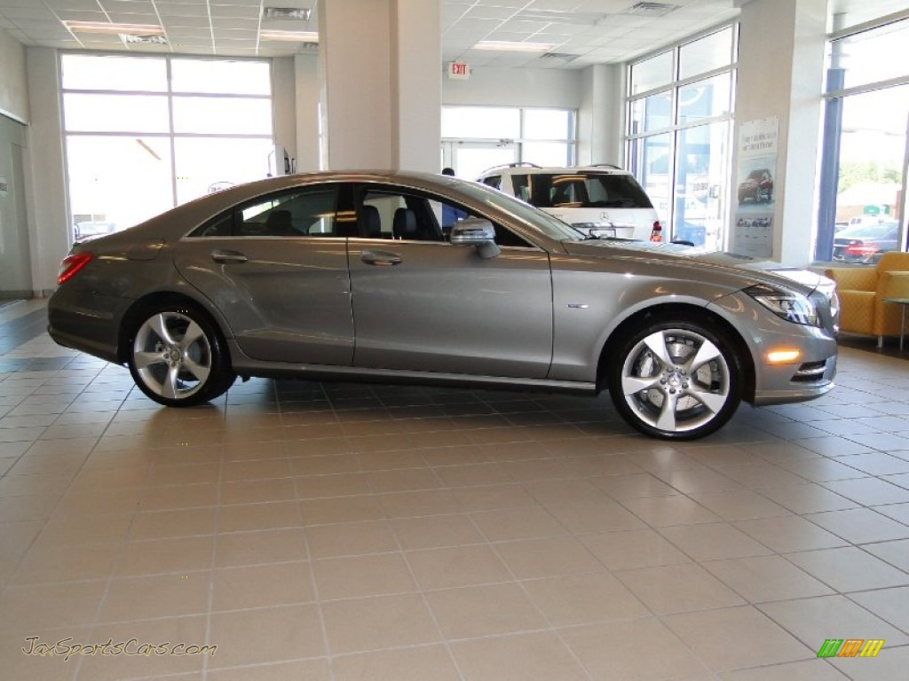 2012 mercedes benz cls 550 coupe in palladium silver for 2012 mercedes benz cls 550