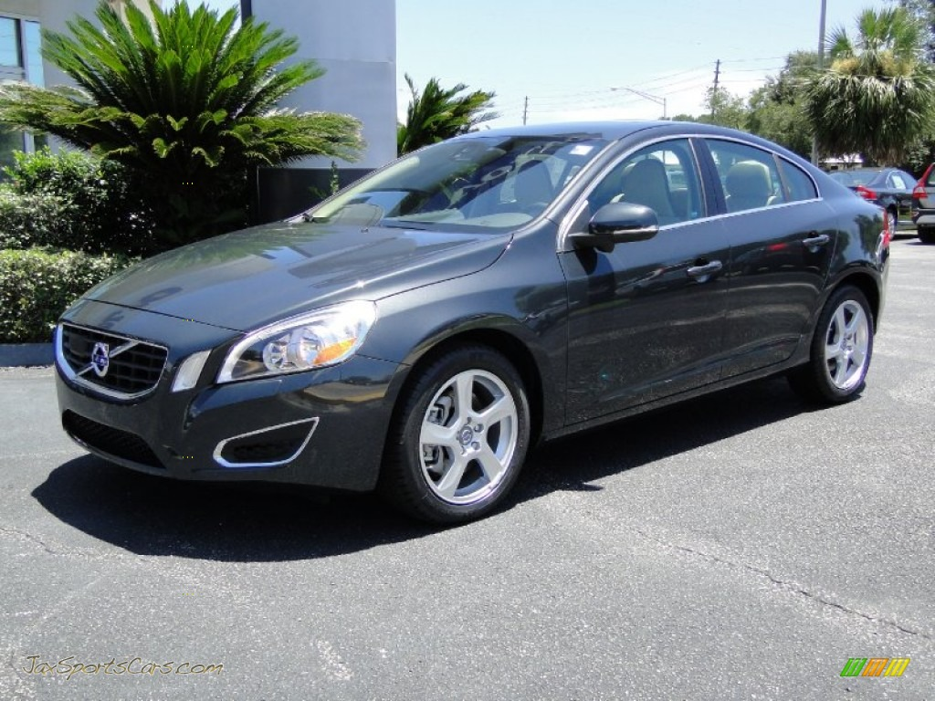 2012 volvo s60 t5 in saville grey metallic 077969 jax. Black Bedroom Furniture Sets. Home Design Ideas
