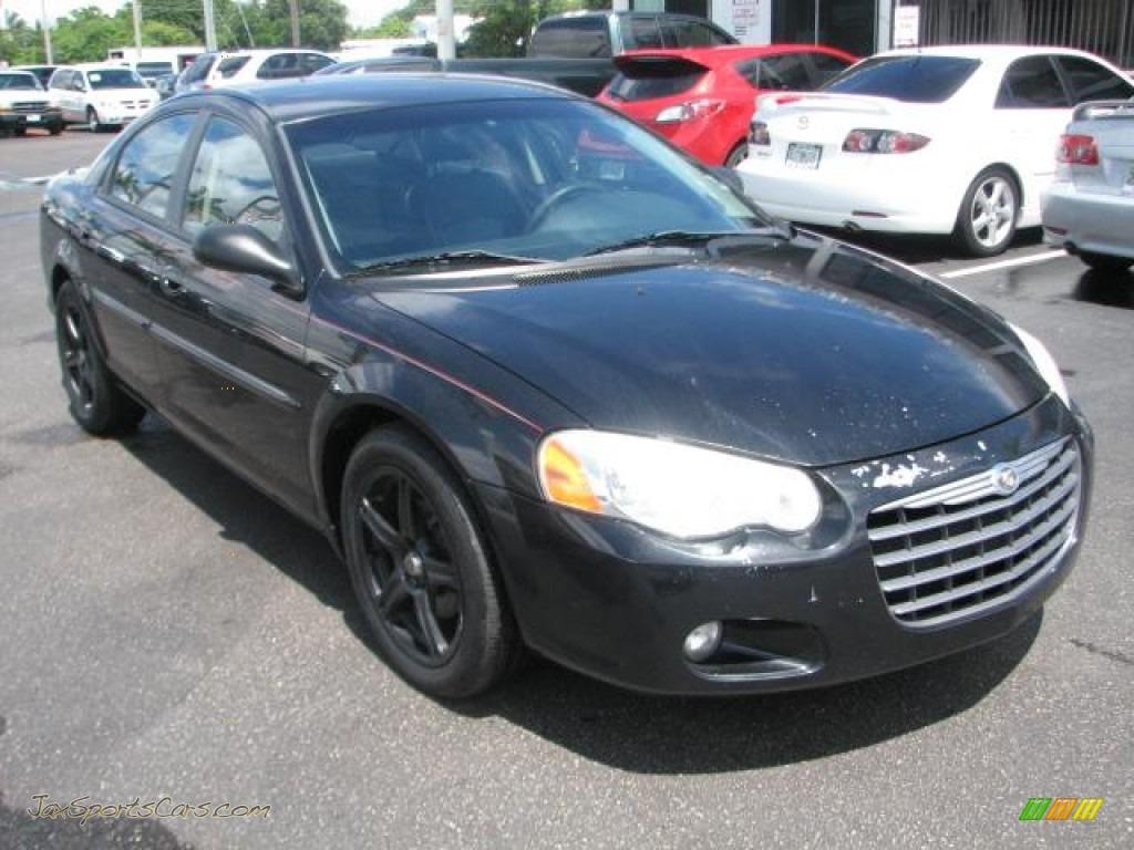 2004 Chrysler Sebring Limited Sedan in Brilliant Black Crystal ...