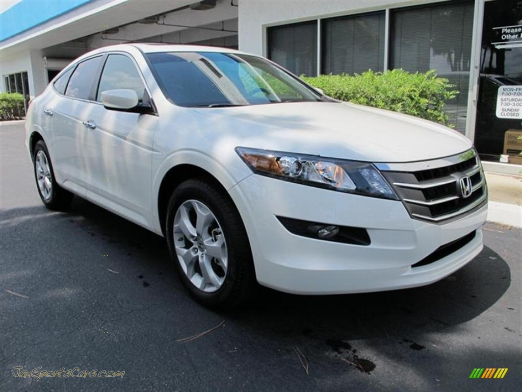 2011 Honda Accord Crosstour Ex L In White Diamond Pearl