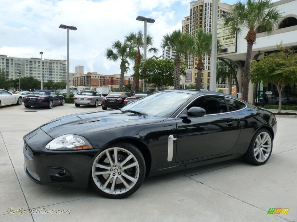 2009 jaguar xk xkr coupe in ultimate black b30358 jax. Black Bedroom Furniture Sets. Home Design Ideas