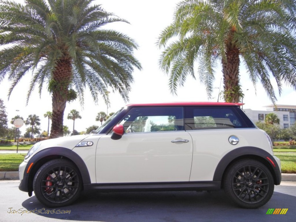 2011 mini cooper john cooper works hardtop in pepper white z96910 jax sports cars cars for. Black Bedroom Furniture Sets. Home Design Ideas
