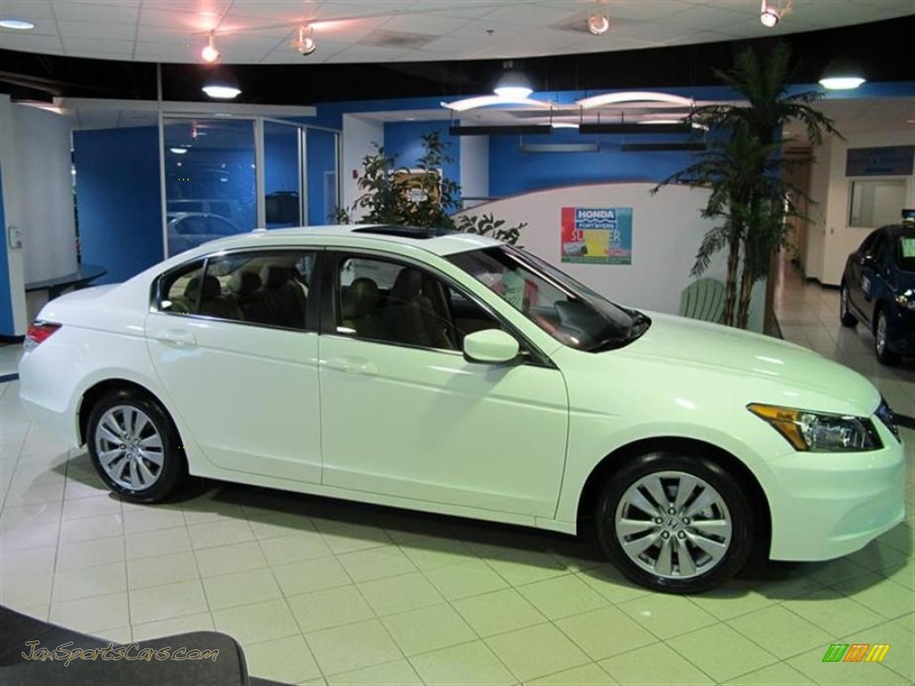 2011 Honda Accord Ex L Sedan In Taffeta White 153447