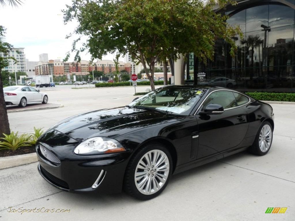2010 jaguar xk xk coupe in ebony black b38181 jax sports cars cars for sale in florida. Black Bedroom Furniture Sets. Home Design Ideas