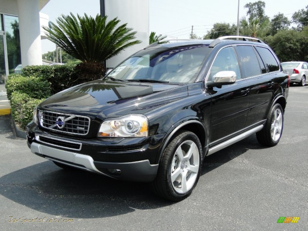 2012 Volvo Xc90 3 2 R Design In Black Stone Photo 5