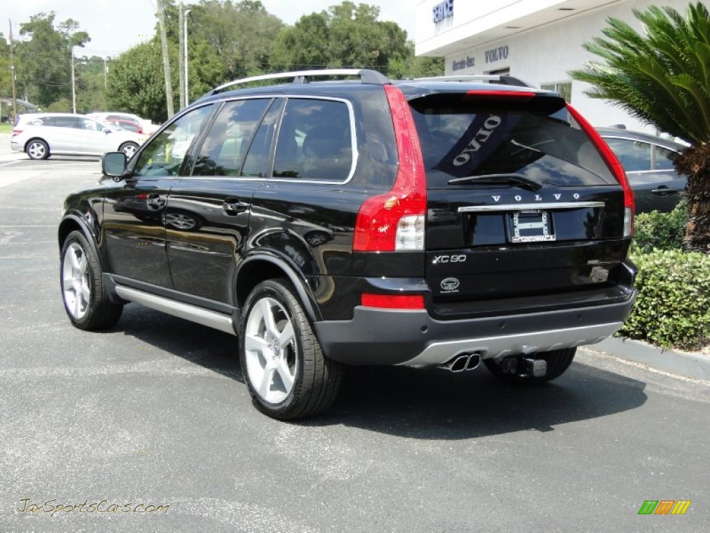 2012 volvo xc90 3 2 r design in black stone photo 4 616513 jax sports cars cars for sale. Black Bedroom Furniture Sets. Home Design Ideas