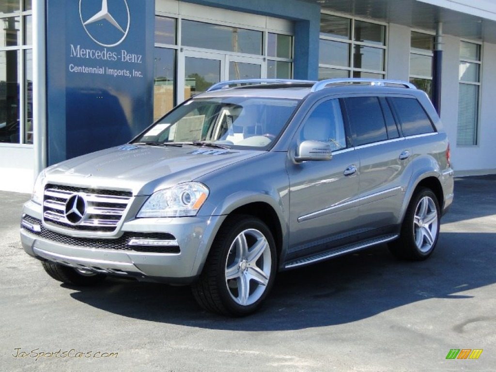 2012 mercedes benz gl 550 4matic in paladium silver for Mercedes benz 550 gl