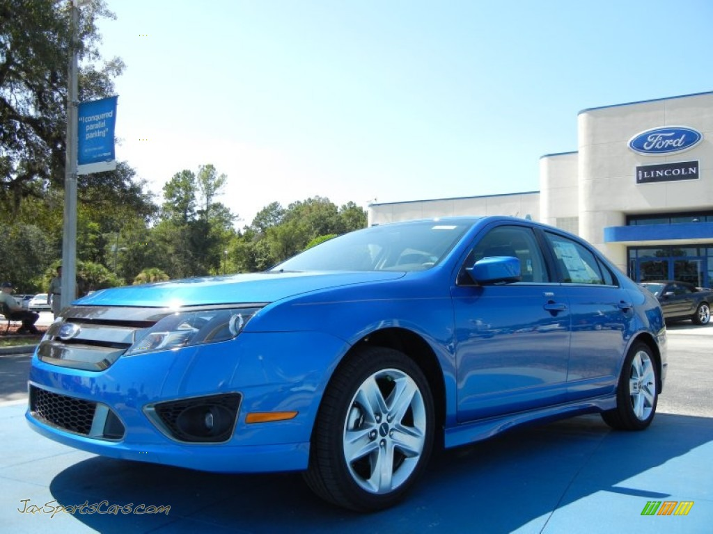 2012 ford fusion sport in blue flame metallic photo 13 174370 jax sports cars cars for. Black Bedroom Furniture Sets. Home Design Ideas