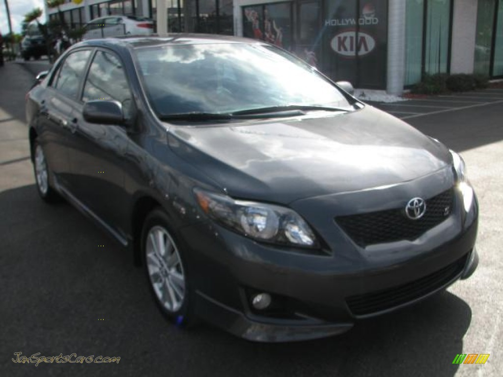2010 toyota corolla s in magnetic gray metallic 274346 jax sports cars cars for sale in