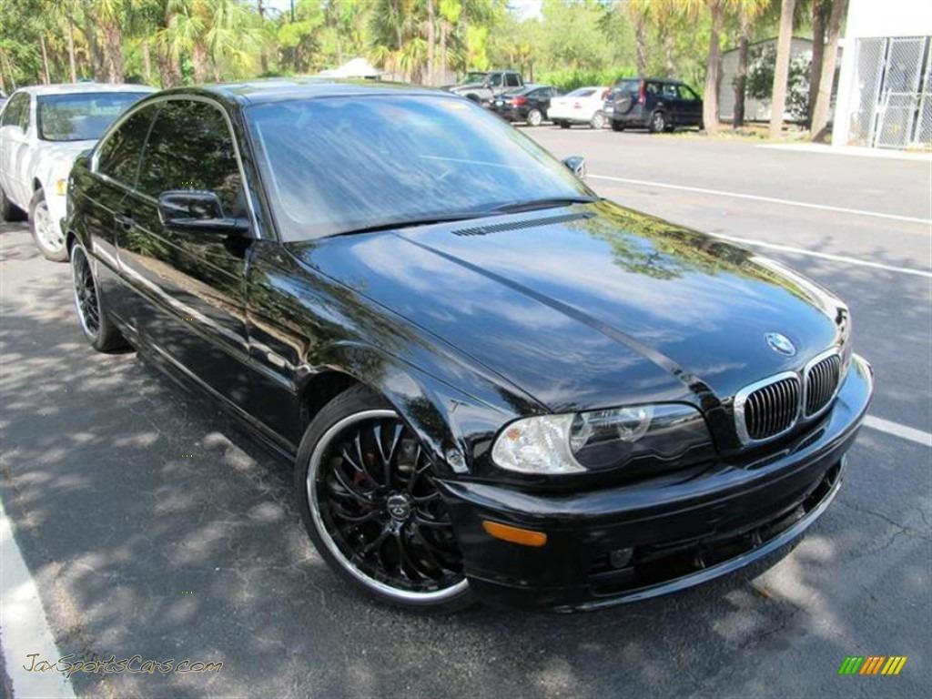 2003 BMW 3 Series 325i Coupe in Jet Black  G61536  Jax Sports