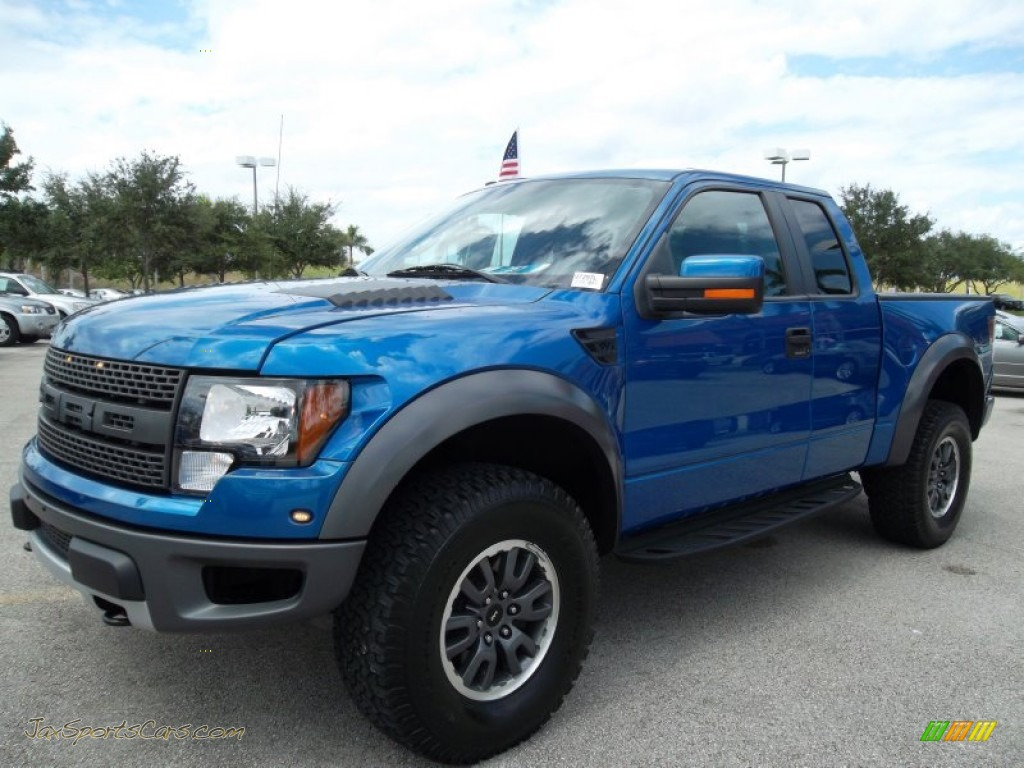 2010 ford f150 svt raptor supercab 4x4 in blue flame metallic photo 13 a99095 jax sports. Black Bedroom Furniture Sets. Home Design Ideas