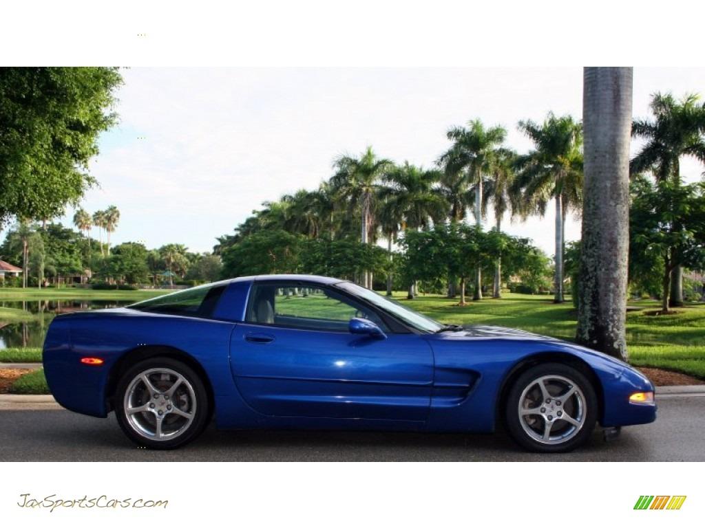 2002 Chevrolet Corvette Coupe In Electron Blue Metallic