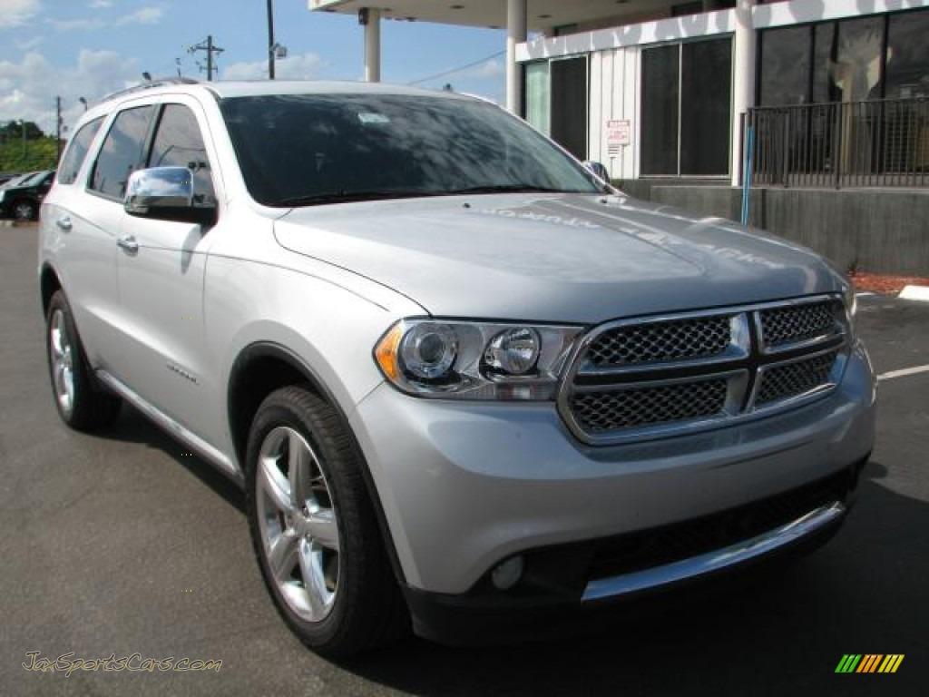 2011 Dodge Durango Citadel In Bright Silver Metallic