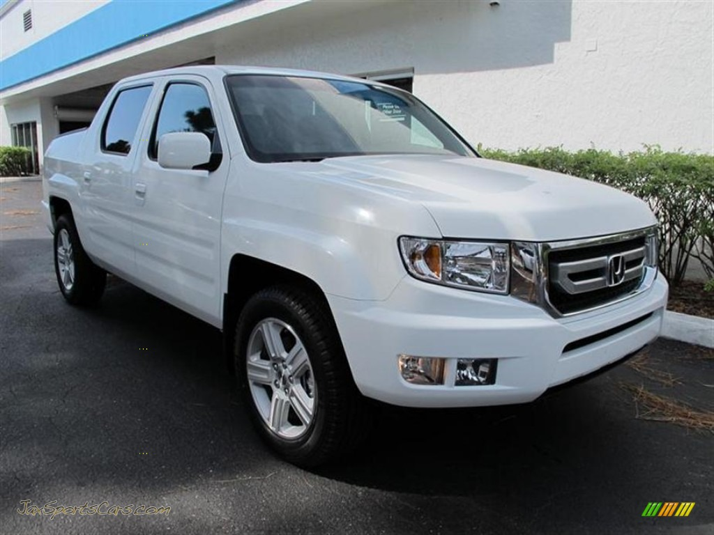 2011 honda ridgeline rtl in white 454357 jax sports cars cars for sale in florida. Black Bedroom Furniture Sets. Home Design Ideas