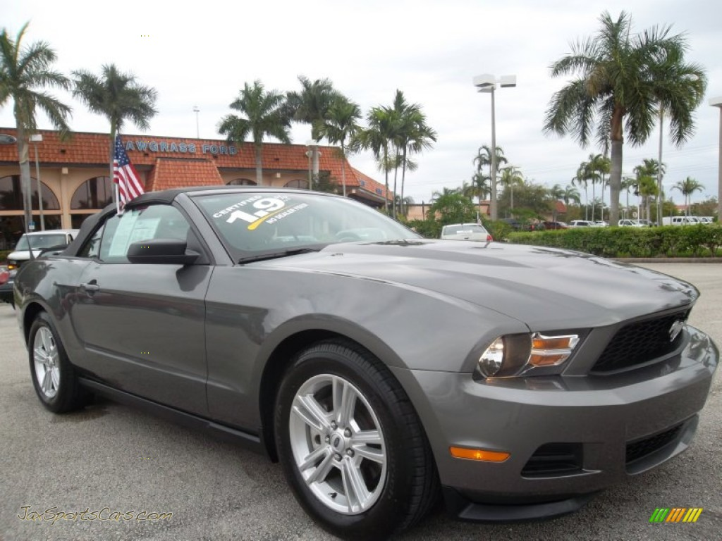 2011 ford mustang v6 premium convertible in sterling gray metallic 129154 jax sports cars