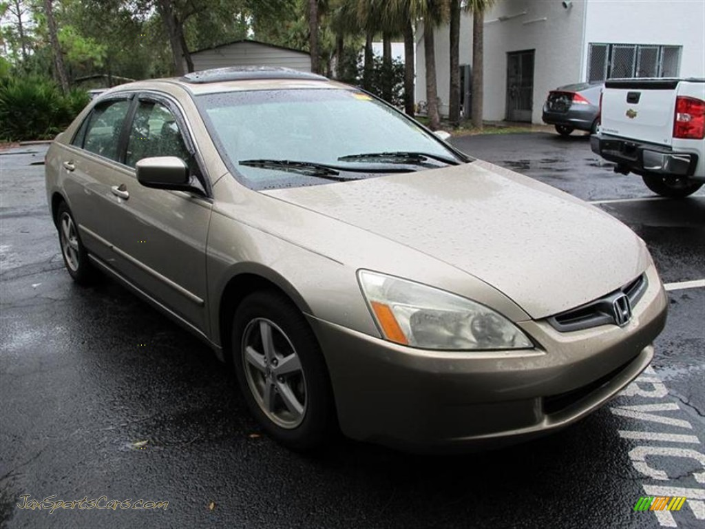 2003 honda accord ex sedan in desert mist metallic for 2003 honda accord ex sedan