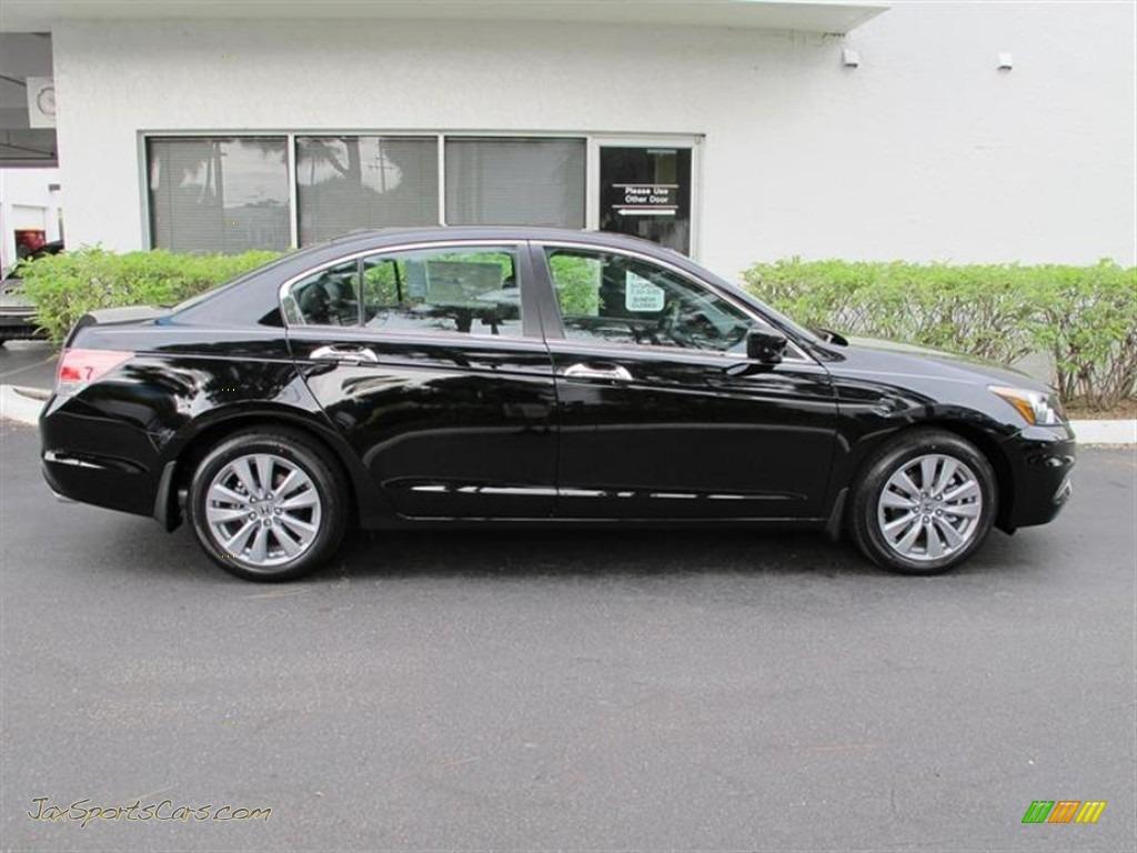 2012 honda accord ex l v6 sedan in crystal black pearl for 2012 honda accord black