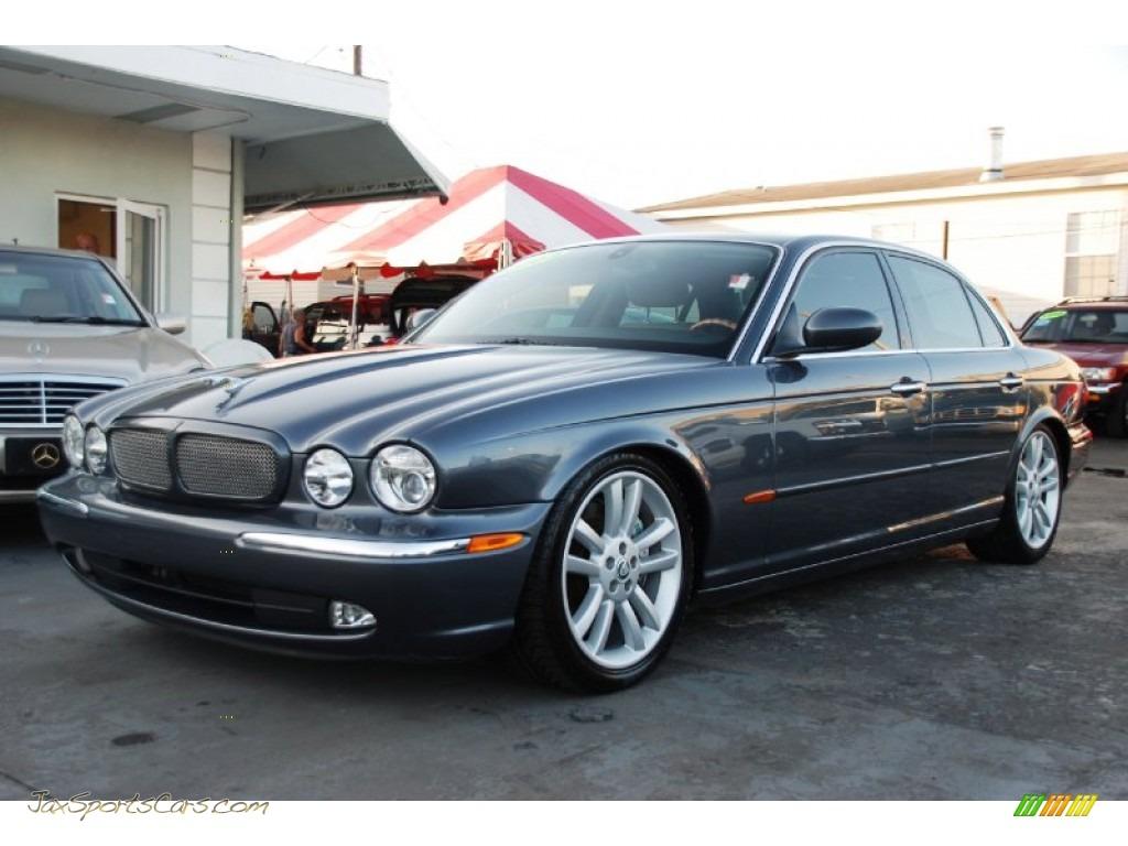 2004 Jaguar Xj Xjr In Dark Blue Grey Pearl Metallic