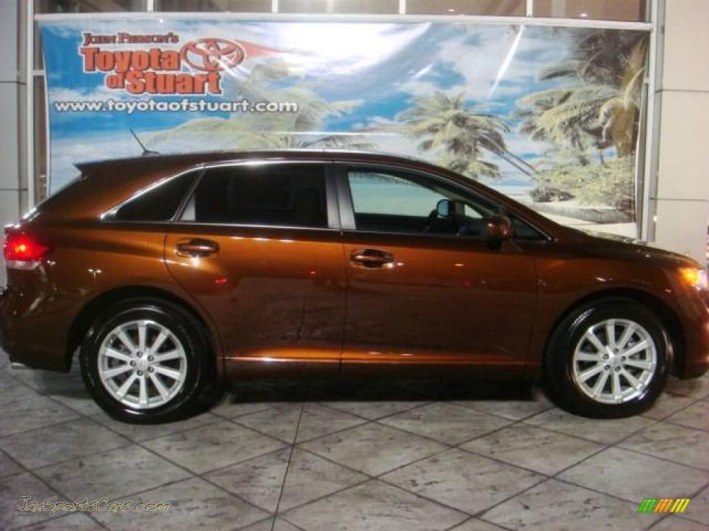 2009 Toyota Venza I4 In Sunset Bronze Mica 008687 Jax