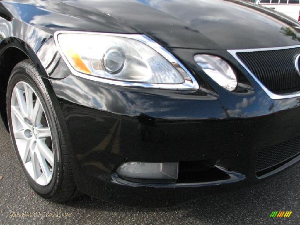 2006 GS 300 - Black Onyx / Black photo #2