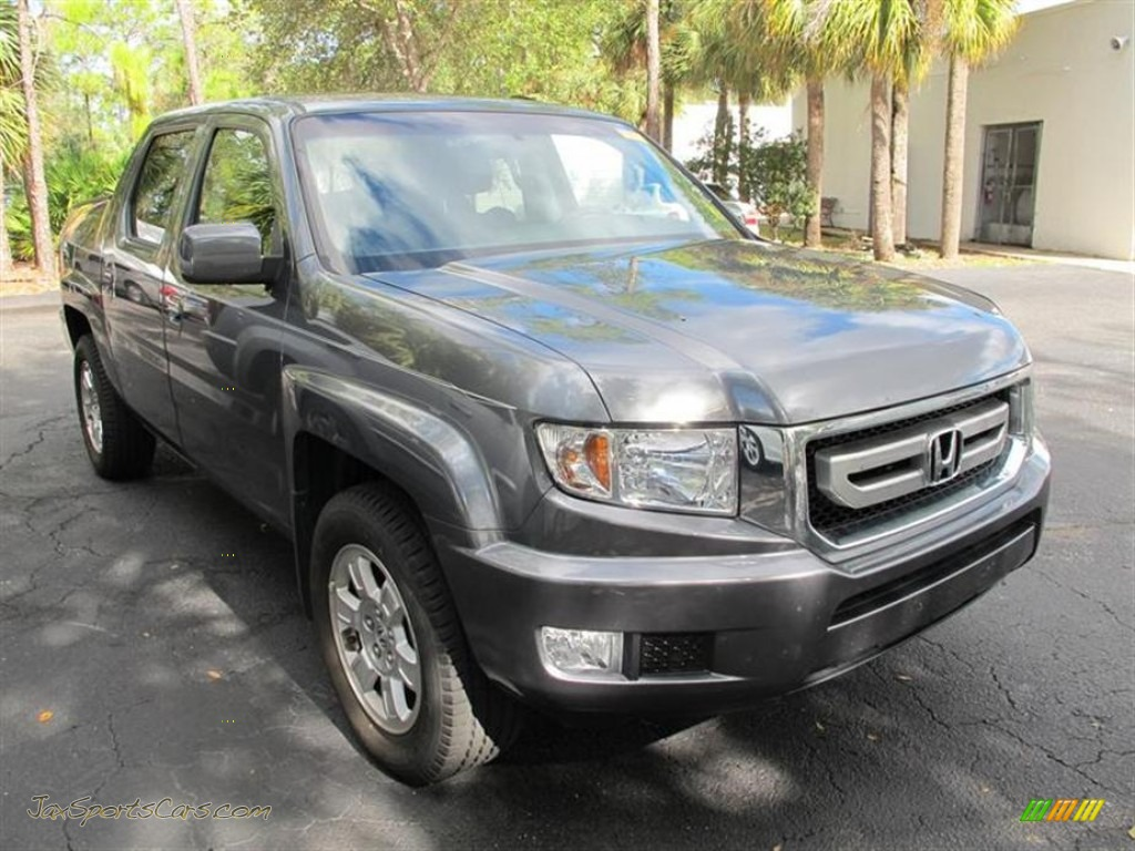 2010 honda ridgeline rts in polished metal metallic 013330 jax sports cars cars for sale. Black Bedroom Furniture Sets. Home Design Ideas