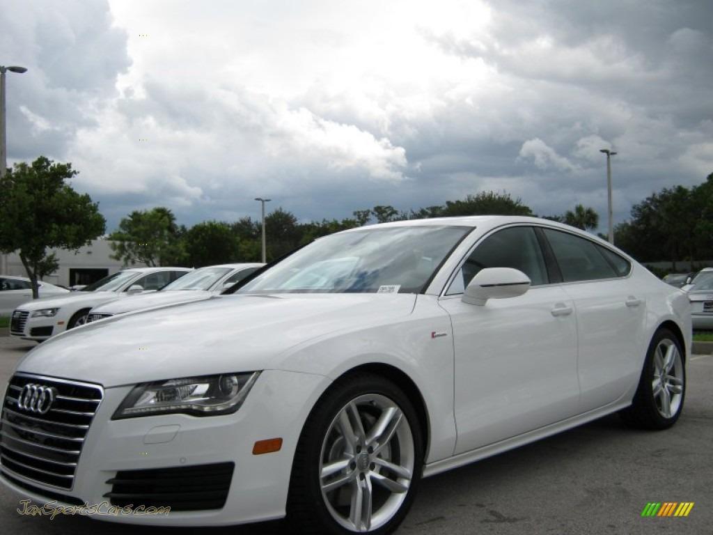 Coral Springs Nissan >> 2012 Audi A7 3.0T quattro Premium in Ibis White photo #2 - 017606 | Jax Sports Cars - Cars for ...