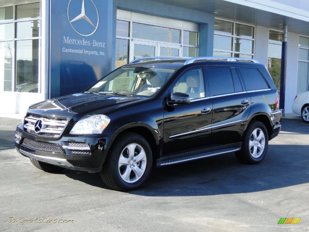 2012 mercedes benz gl 450 4matic in obsidian black metallic 769658 jax sports cars cars. Black Bedroom Furniture Sets. Home Design Ideas