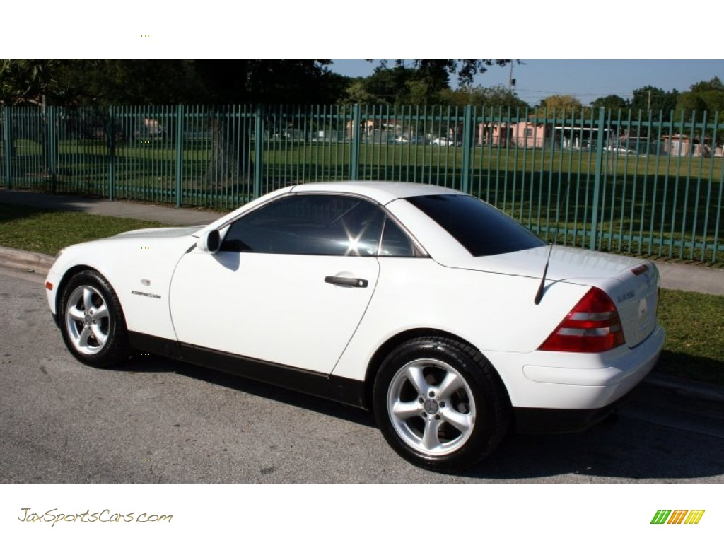 1998 mercedes benz slk 230 kompressor roadster in polar white photo 4 078478 jax sports. Black Bedroom Furniture Sets. Home Design Ideas