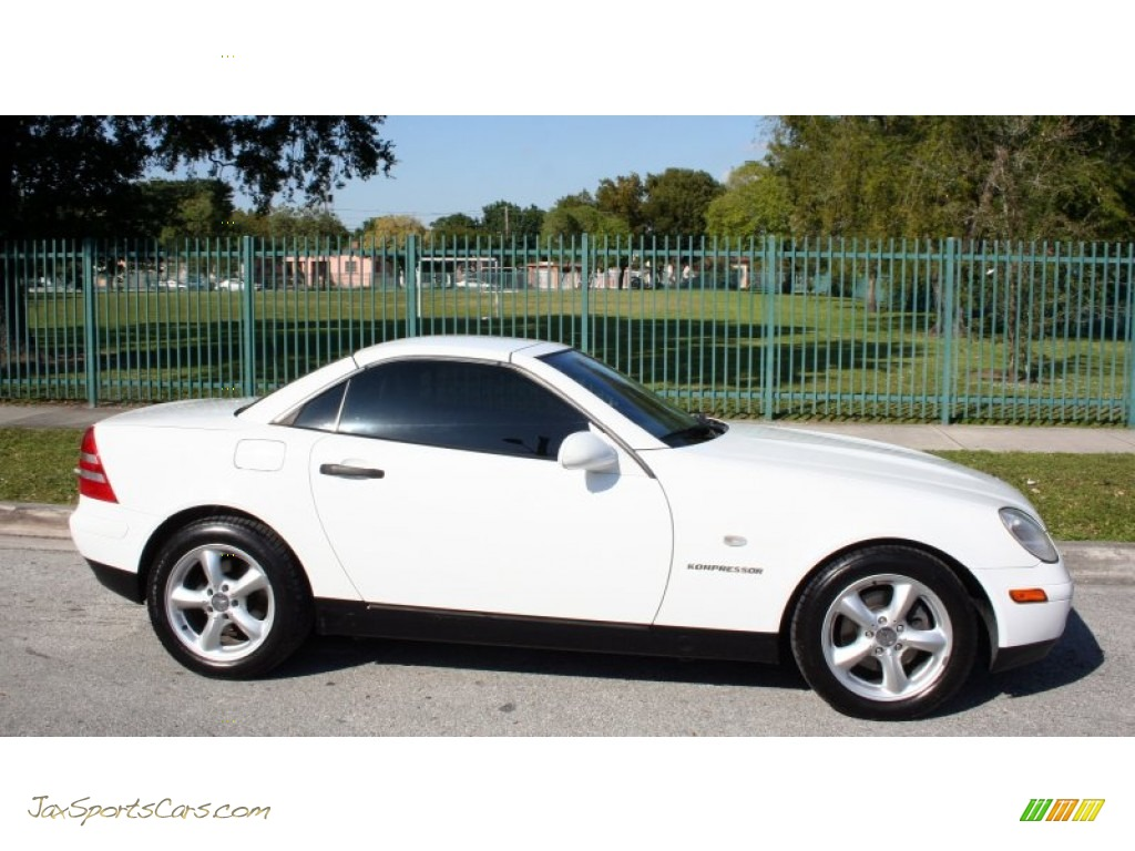 1998 mercedes benz slk 230 kompressor roadster in polar white photo 10 078478 jax sports. Black Bedroom Furniture Sets. Home Design Ideas