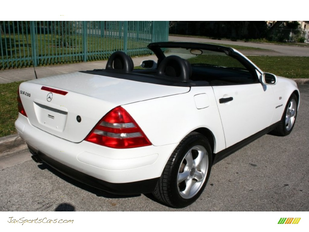 1998 mercedes benz slk 230 kompressor roadster in polar white photo 24 078478 jax sports. Black Bedroom Furniture Sets. Home Design Ideas