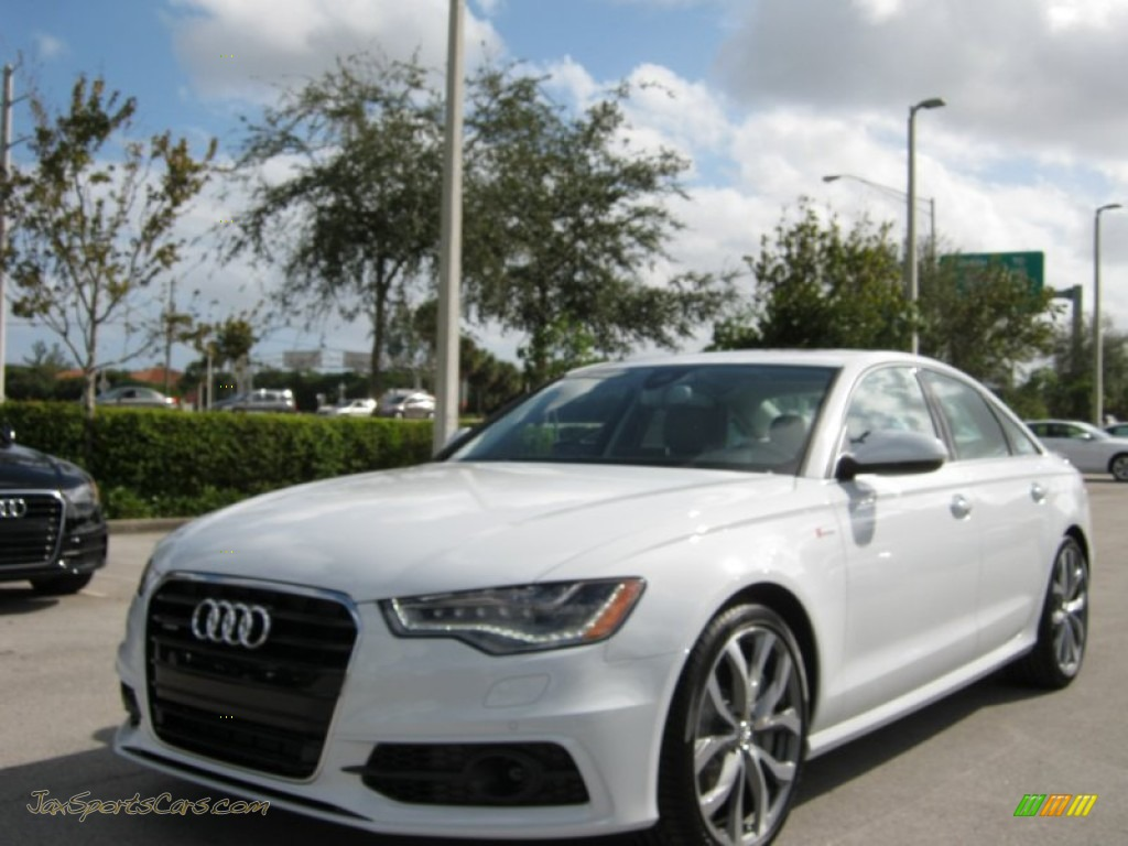 2012 Audi A6 3.0T quattro Sedan in Ibis White - 073774 | Jax Sports Audi A Anium Gray on