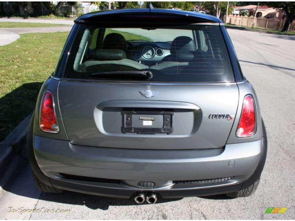 2006 Cooper S Hardtop - Dark Silver Metallic / Space Gray/Panther Black photo #18