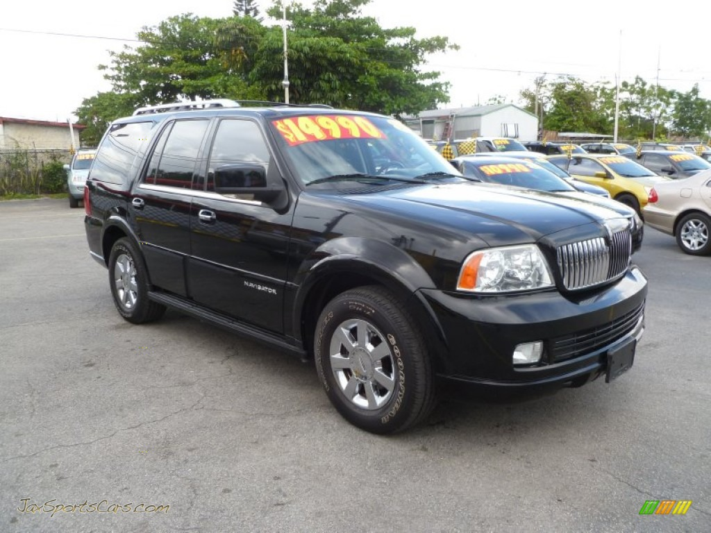 2006 lincoln navigator luxury in black j01401 jax sports cars cars for sale in florida. Black Bedroom Furniture Sets. Home Design Ideas