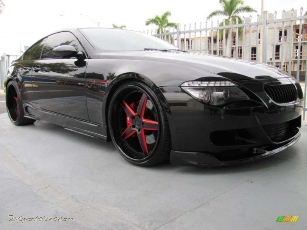 2008 Bmw M6 Ac Schnitzer Coupe In Black Sapphire Metallic
